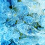 Aquamarin Geode Edelstein Kristalle Schmucksteine