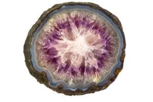 Amethyst Amethyst stone structure