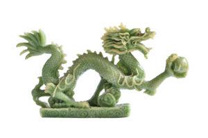Jade , Jadeit , Nephrit , Jadedrachen Jadeskulptur drachen skulptur